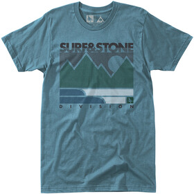Hippy Tree Linework Kortærmet T-shirt Herrer blå